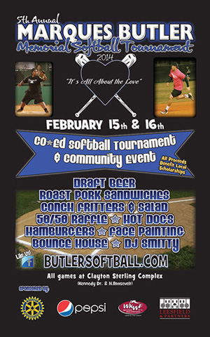 LFF sponsors the 2014 Marques Butler Memorial Softball Tournament